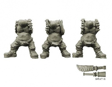 Spellcrow Orcs: Komando Ork Bodies