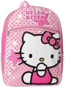 FAB Starpoint Girl's Hello Kitty Pink Stars Backpack