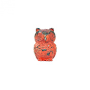 Owl Drawer Pull, Red