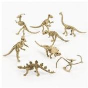 Dozen Dino-Mite Plastic Dinosaur Skeletons