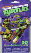 Teenage Mutant Ninja Turtles 3D Novelty Pack of 50 Temporary Tattoos