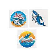 72 ~ Shark Temporary Tattoos ~ Approx. 3.8cm ~ New
