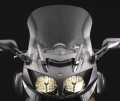 National Cycle Fairing Mount VStream Quantum Hardcoated Windscreen 50cm /Clear For Yamaha FJR1300AE/FJR1300A ABS 2006-2009 - N20302