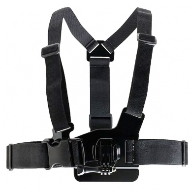 DURAGADGET Adjustable Chest Harness Mount With Quick Release-Buckle For GoPro Hero 3+ Black Edition & Silver Edition