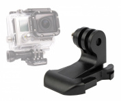 DURAGADGET Vertical Surface Quick-Release J Hook Buckle Strap Mount For GoPro Hero 3+ Black Edition & Silver Edition