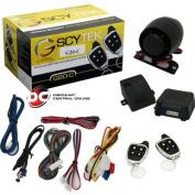 Scytek Car Alarm System with Keyless Entry & Two 4-button Chrome Remotes