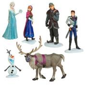 Frozen The Snow Queen Anna Elsa Kristoff Hans 6 In 1 Dolls Toy