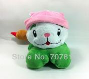 Plants Vs Zombies Toyplush Doll Decorations Soft Stuffed Toys Cattail 15cm  Cute Plushtoys For Children