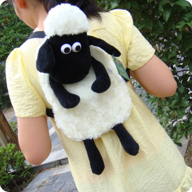 29  23cm large shaun the sheep lamb shoulder bag backpack