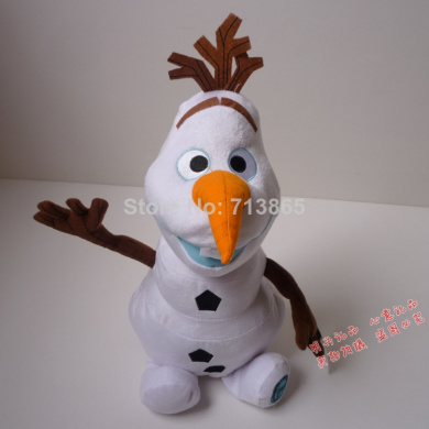 30cm Plush Cartoon Movie Frozen Olaf Toys, Stuffed Cotton Frozen Olaf Plush Doll, Snowman Plush Toy Dollsgift