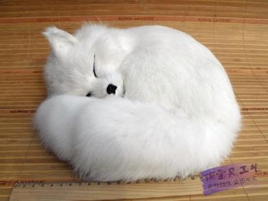 Fox Pet Crafts Fox Arctic Fox Feng Shui Decoration