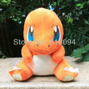 Japanese Cartoon Pokemon Charmander Plush Doll Toy Red Dragon Plush Toys Stuffed Dolls For Xmas Gifts 28cm