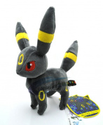 Anime 20cm  Pokemon Eevee Collection Umbreon Plush Soft Doll Toy New+pc1853 Funny