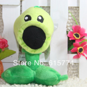 New 17cm Pea Striker Zombie Figures Of Plants Vs Zombies, Zombie Plush Toy Doll