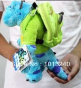 20cm Sulley Doll With A Mike Backpack,monster Inc Monster University Sullivan Sulley Soft Toys