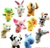 Small Animal Even A Finger Plush Toy Puppet Even A Finger Toy Puppet 10 Set 0.04