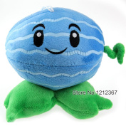 "Plants Vs Zombies Toy Plush Doll Decorations Soft Stuffed Toys Winter Melon 16cm/5"" Cute Plush Toys For Children"