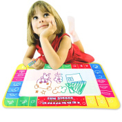 New 72x49cm Water Drawing Painting Mat Board Magic Pen Doodle Toy Gift Jecksion