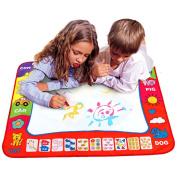 Innovative Items Aqua Doodle Children's Drawing Toys Mat Magic Pen Educational Toy 1 Mat+ 2 Water Drawing Pen Size 80*60cm