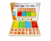 Educational Wood Product Figure Arithmetic Math Toys For Children Fancy Toy