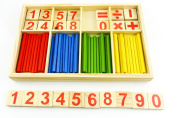 1set Baby Toy Learning Educational Wood Product Figure Arithmetic Math Toys For Children Fancy Toy