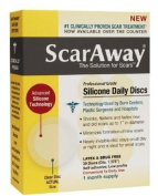ScarAway Professional Grade Silicone Daily Discs - 30 Discs