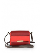 Marc Jacobs Cabernet Multi Crossbody Gold Leather Bag New Marc By Marc Jacobs 'Hail to the Queen Katie' Crossbody Bag