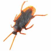 3 Pcs Life-like Fake Roach Blackbeetle Cockroach Trick