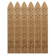 NAVA 6Pcs 3 1/2?Bronze Carved Wax Seal Stick For Retro Vintage Wax Seal Letter Stamp