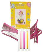 Easter Basket Mesh Wrap - Pink