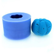 Wholeport DIY Candle Mould Silicone Soap Mould Candle Making Mould Pumpkin 116