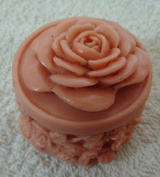 4.6x4.6x5cm Rose Zx379 Silicone Handmade Candle Mould Craft DIY Mould