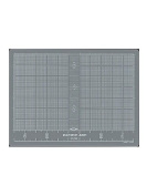 Pacific Arc Multipurpose Cutting Mats translucent 22cm . x 30cm .