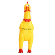 V1nf L Sizelong Neck Chicken Shrilling Chicken Sound Squeeze Screaming Toy