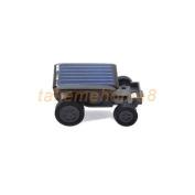 Solar Power Mini Toy Car Racer Educational Gadget W Word