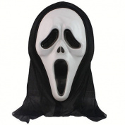 Redleaf Ghost Scream Face Mask Costume Party Dress Halloween Worldwide