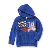 Toughskins Baby-Boys Infant and Toddler Boy's Fleece Hooded Jacket