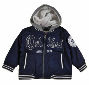 Osh Kosh B'gosh Infant Boys Navy Blue Hooded Spring Jacket