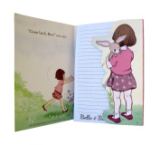 Belle & Boo A5 Notebook with die cut front cover