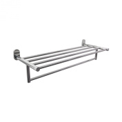 Boann Solid T304 Stainless Steel 60cm Towel Rack with Towel Bar