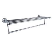 XVL Bathroom Shelf With Towel Rack And Single Bar G503