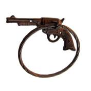 Gun Towel Ring Metal Rack