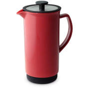 FORLIFE Cafe Style Coffee/Tea Press, 950ml, Red