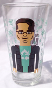 New THE BIG BANG THEORY Litho VIDEO GAME Collector Series 470ml Glass