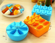 2set/lot Popsicle Box Diy Pudding Ice Cream Mould
