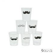 Moustache Shot Glass - Pack of 12