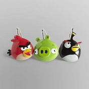 Angry Birds Shower Curtain Hooks Set of 12