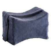 Nova Medical Products Memory Foam Knee Pillow, Blue