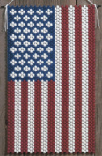 American Glory Beaded Banner Kit The Beadery 5190 Pony Beads