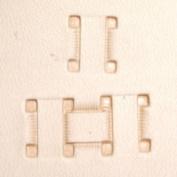 "Basketweave Stamp Tool 6517-00 X517 Impression Size 3/8"""